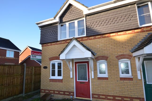 Thumbnail End terrace house to rent in Wimborne Close, Beggarwood, Basingstoke