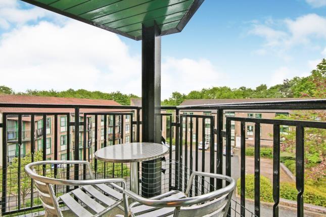 Balcony of Lumley Close, Washington, Tyne And Wear NE38