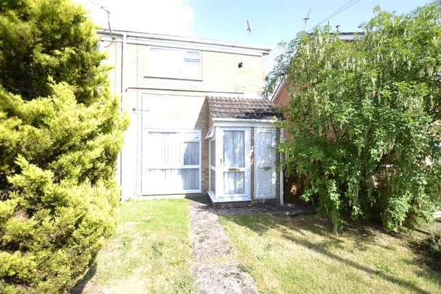 Thumbnail End terrace house for sale in Darell Close, Quedgeley, Gloucester, Gloucestershire