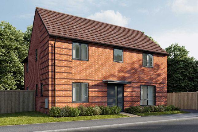 "Thumbnail Detached house for sale in ""The Kempthorne"" at Parsonage Close, Highfields Caldecote, Cambridge"