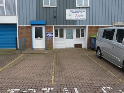 Thumbnail Office to let in First Floor Rear Office, Unit 123, John Wilson Business Park, Harvey Drive, Whitstable, Kent