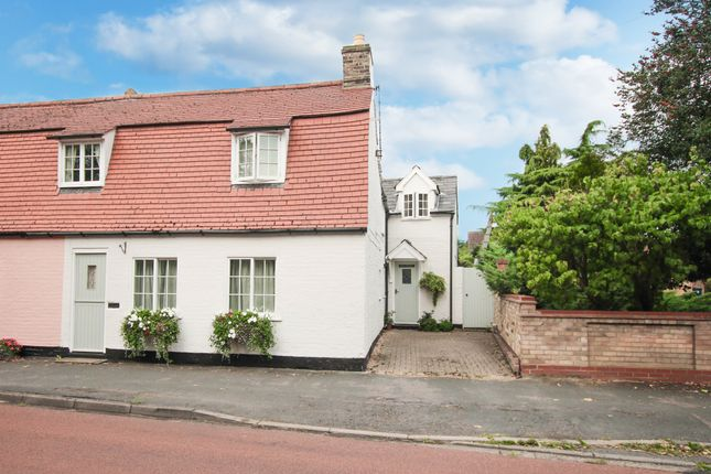 Thumbnail End terrace house for sale in High Street, Horningsea, Cambridge
