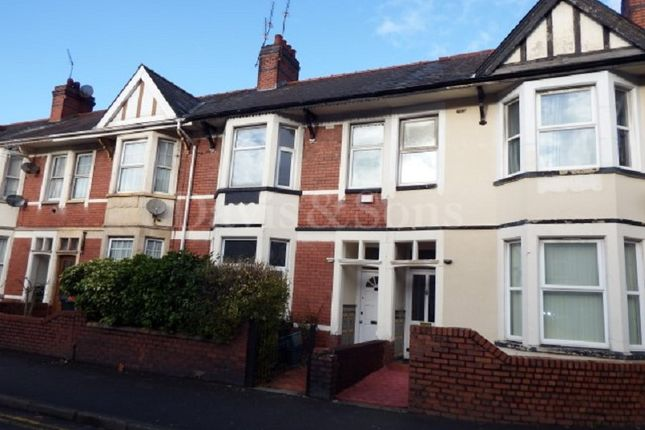 Thumbnail Terraced house to rent in Chepstow Road, Newport
