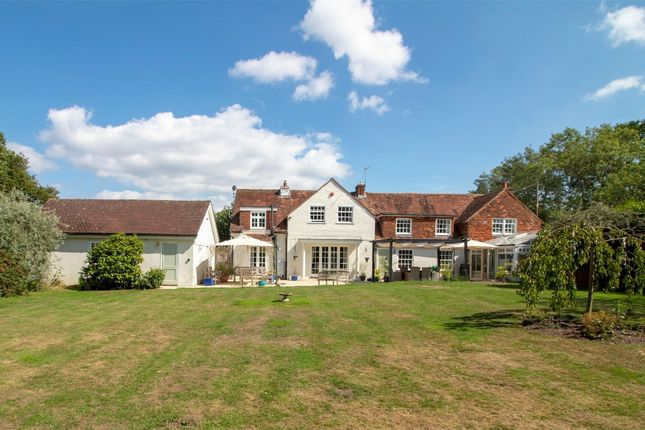 Thumbnail Detached house for sale in Dares Lane, Ewshot, Farnham