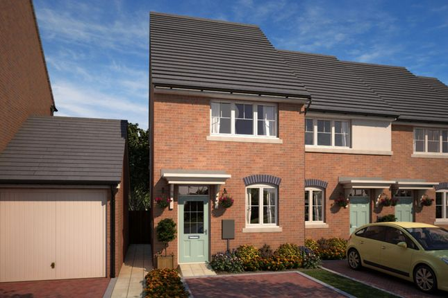 "Thumbnail Semi-detached house for sale in ""Lumley"" at Whitworth Park Drive, Houghton Le Spring"