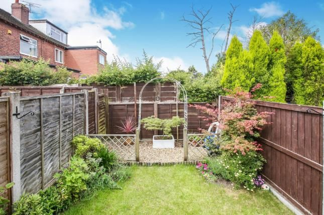 Garden of Lowndes Lane, Mile End, Stockport, Cheshire SK2