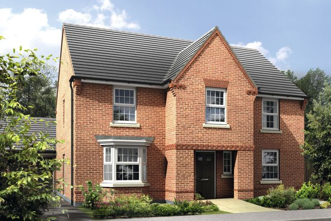 "Thumbnail Detached house for sale in ""Winstone"" at Warkton Lane, Barton Seagrave, Kettering"
