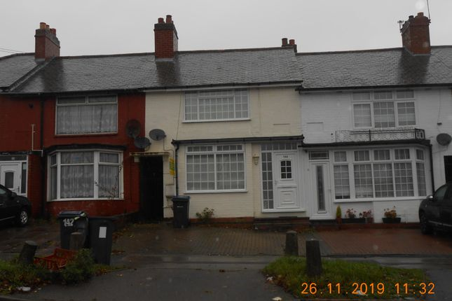Thumbnail Terraced house for sale in Cotterills Lane, Alum Rock