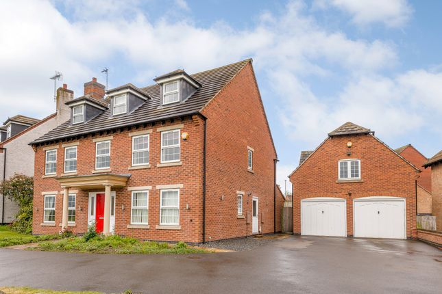 Thumbnail Detached house for sale in Martinshaw Close, Bradgate Heights, Leicester, Leicestershire