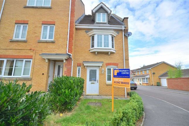 Thumbnail Town house for sale in Triscombe Way, Cheltenham, Gloucestershire