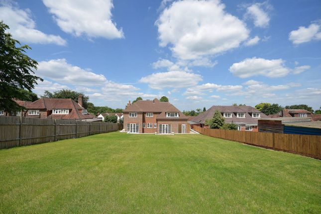 Thumbnail Detached house to rent in Manor Way, Onslow Village, Guildford