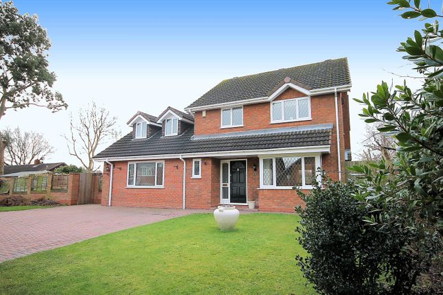 Thumbnail Detached house for sale in Chandlers Drive, Tamworth