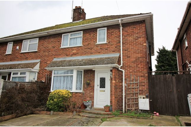 Thumbnail End terrace house for sale in The Drive, Rochford