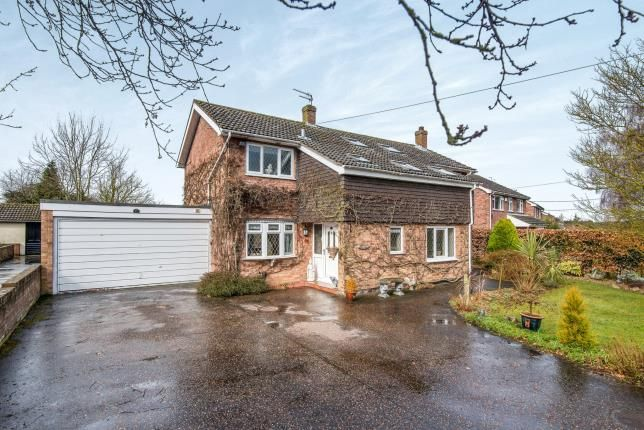 Thumbnail Detached house for sale in Little Melton, Norfolk