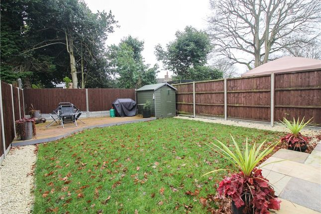Rear Garden of Willowford, Yateley, Hampshire GU46