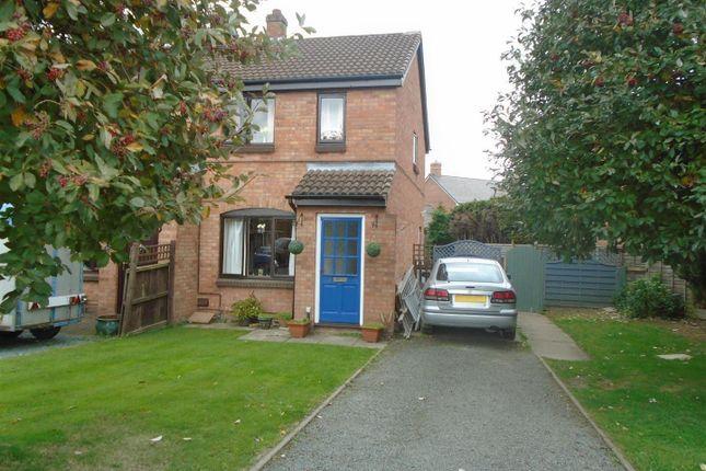 Thumbnail Semi-detached house for sale in Prescott Fields, Baschurch, Shrewsbury