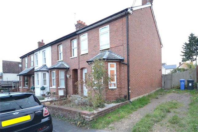 Thumbnail End terrace house for sale in New Road, Blackwater, Camberley