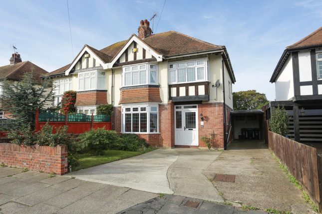 Thumbnail Semi-detached house for sale in Foreland Avenue, Cliftonville, Margate