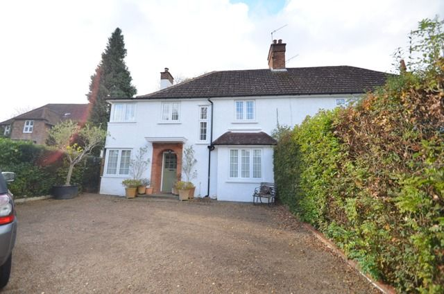 Thumbnail 4 bed semi-detached house to rent in Kingswood Road, Tadworth