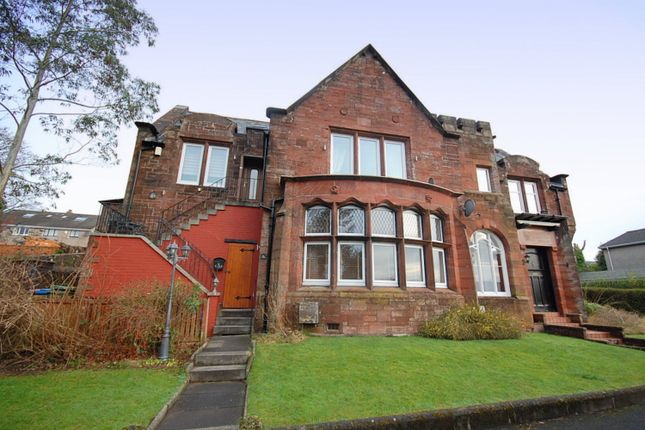 Thumbnail Flat for sale in Mansewood Drive, Dumbarton, West Dunbartonshire