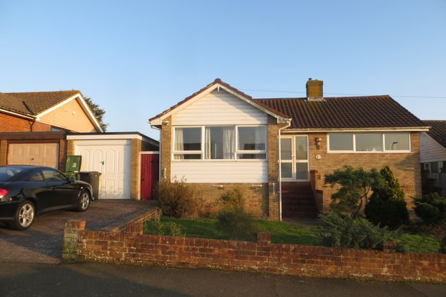 Thumbnail Detached bungalow to rent in Grange Avenue, Hastings