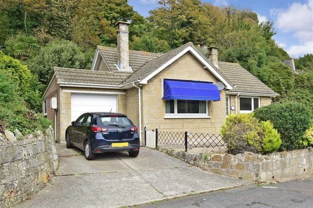Thumbnail Detached bungalow for sale in Castle Close, Ventnor, Isle Of Wight