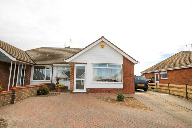 Thumbnail Semi-detached bungalow for sale in Dorothy Avenue, Bradwell, Great Yarmouth