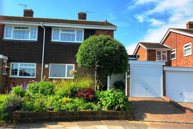 Thumbnail Semi-detached house for sale in Canon Close, Rochester