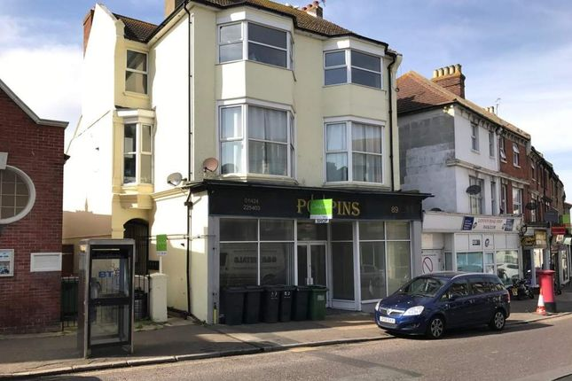 Thumbnail Retail premises for sale in 89 London Road, Bexhill On Sea