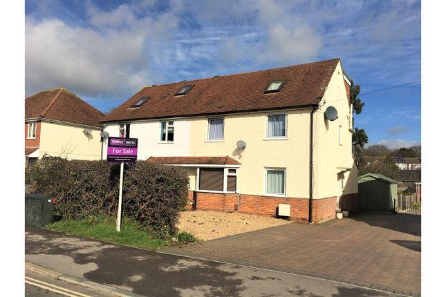 Thumbnail Semi-detached house for sale in Gudge Heath Lane, Fareham