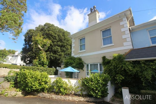 Thumbnail End terrace house to rent in Asheldon Road, Torquay