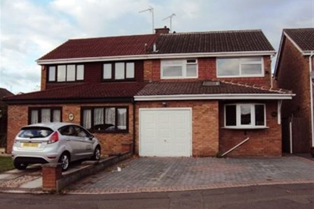 Thumbnail Semi-detached house to rent in Coombe Park Road, Binley, Coventry