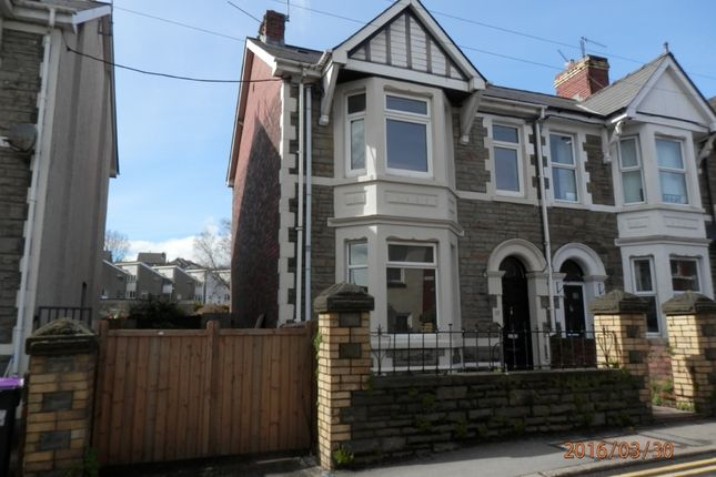 Thumbnail Semi-detached house to rent in Chapel Street, Pontnewydd, Cwmbran