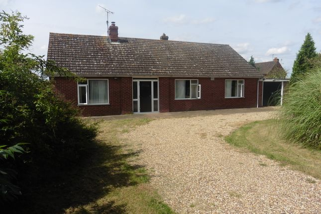 Thumbnail Detached bungalow for sale in The Street, Shereford