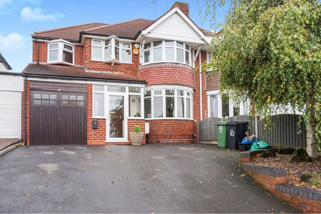 Thumbnail Semi-detached house for sale in Frankley Avenue, Halesowen