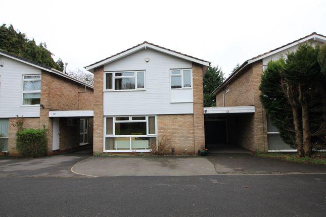 Thumbnail 4 bed link-detached house for sale in Bishbury Close, Edgbaston, Birmingham