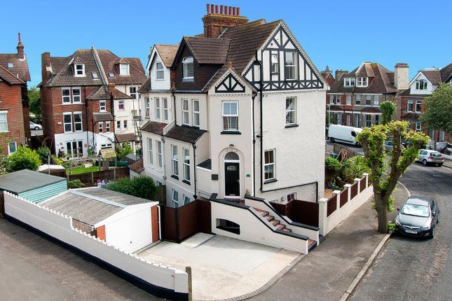 Thumbnail Semi-detached house for sale in East Cliff Gardens, Folkestone