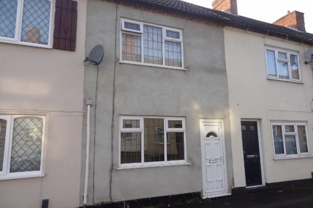 Thumbnail Terraced house to rent in Cross Street, Kettlebrook, Tamworth