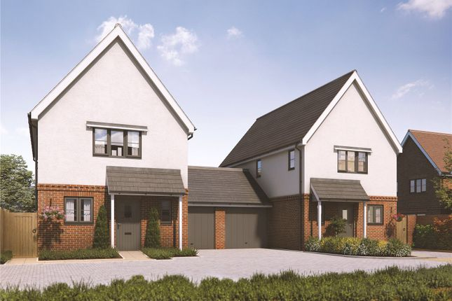 Thumbnail Link-detached house for sale in Orchard Gardens, Melbourn