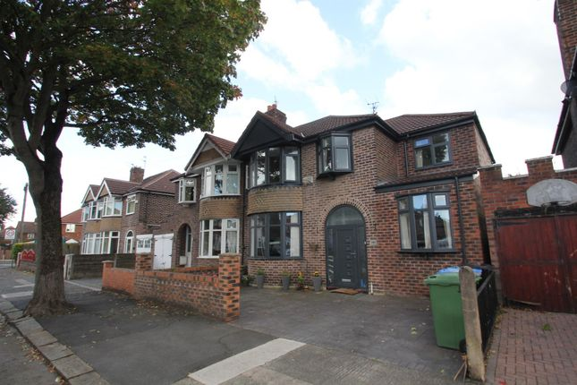 Thumbnail Semi-detached house for sale in Moss Park Road, Stretford, Manchester