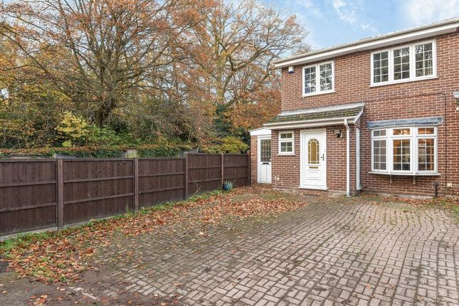 Thumbnail End terrace house to rent in Wentworth Way, Ascot