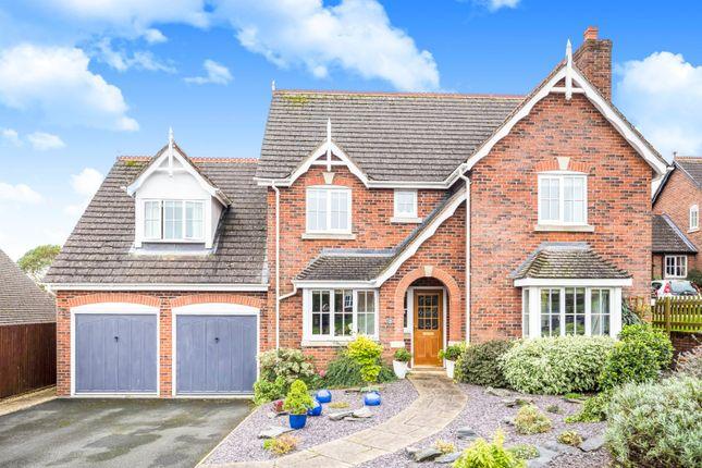 Thumbnail Detached house for sale in Onnen Gardens, Trefonen, Oswestry, Shropshire