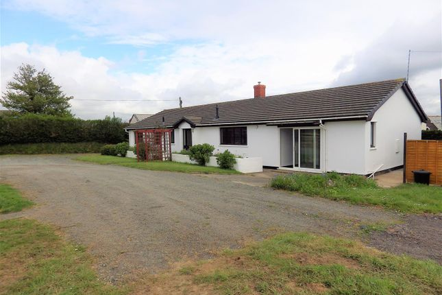 Thumbnail 4 bed detached bungalow to rent in Frithelstock, Torrington