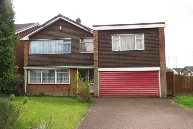 Thumbnail Detached house for sale in Newquay Close, Walsall