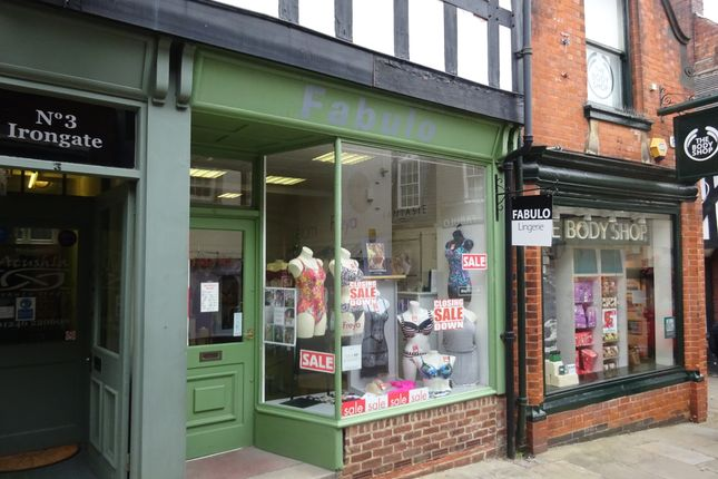 Thumbnail Retail premises to let in Irongate, Chesterfield