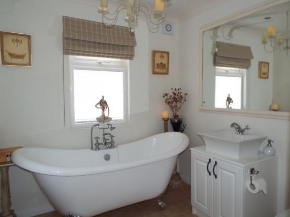 Bathroom of High Croft Park, Newton Hall Lane, Mobberley, Cheshire WA16
