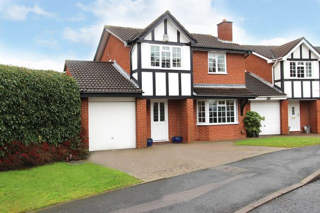 Thumbnail Detached house for sale in Dickinson Drive, Sutton Coldfield