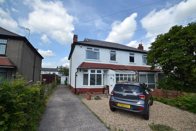 Thumbnail Semi-detached house for sale in Ty Wern Road, Heath, Cardiff