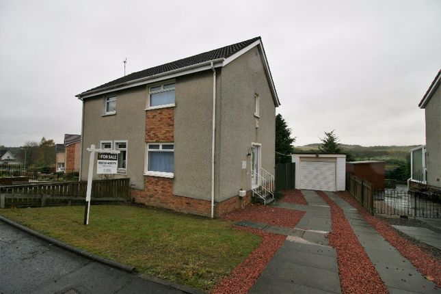 Thumbnail Semi-detached house for sale in Garden Square Walk, Airdrie, North Lanarkshire
