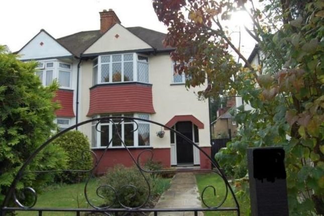 Thumbnail Semi-detached house to rent in Whytecliffe Road North, Purley